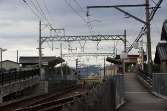 養老鉄道東赤坂駅